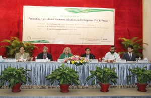 Startup Workshop on Promoting Agricultural Commercialization and Enterprises (PACE)